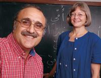 Mahmoud Al-Batal and Kristen Brustad