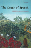 Book cover for Decoding the Origins of Speech.