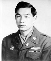 Army portrait of Arthur Sakamoto, Sr., circa 1944.