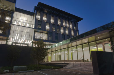January 2013, new Liberal Arts Building opens.