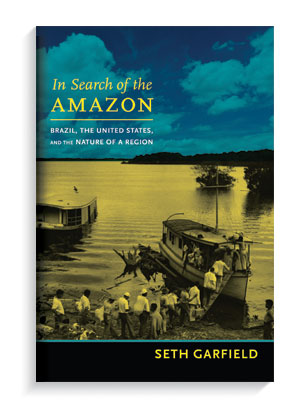 In Search of the Amazon book cover.