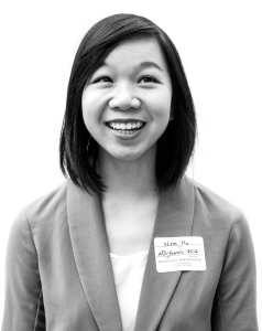 Nina Ho (French & advertising soph). Photo: Marsha Miller.