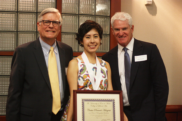 Cintia is a psychology honors student and Ronald E. McNair Scholar who is conducting her senior honor theses under Dr. Cristine Legare and Dr. David Yeager. As a Latina first-generation college student, Cintia values incorporating culture and character-based traits into her research on academic development on at-risk youth.