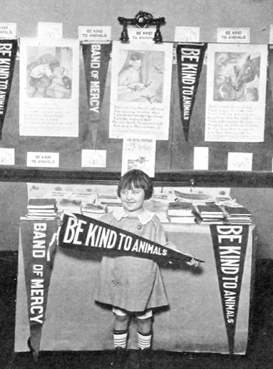 Humane Education exhibit in Atlanta, Georgia, 1925. Photograph published in Our Dumb Animals. Courtesy of the MSPCA-Angell Collection.
