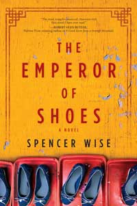 Book cover for The Emperor of Shoes.