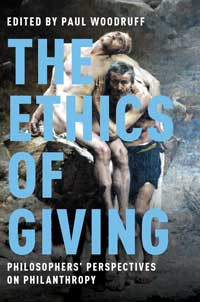 Book cover for The Ethics of Giving.