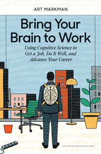 Book cover for Bring Your Brain to Work.