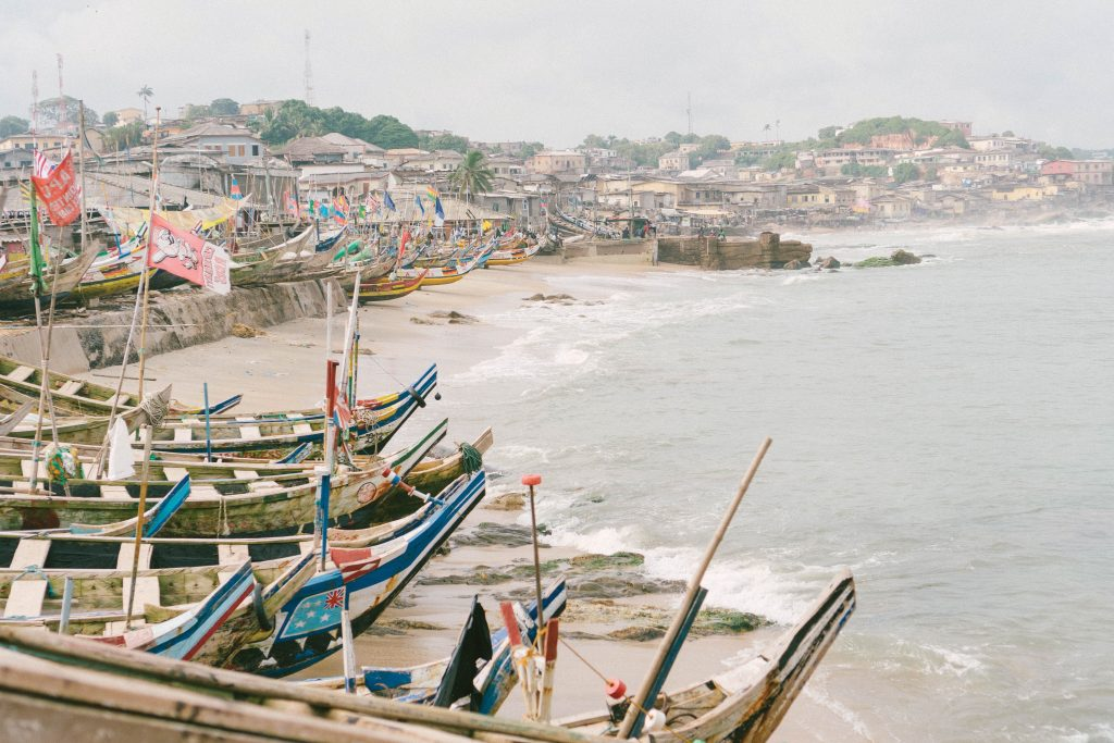 Jamestown, a fishing community in Accra, Ghana.