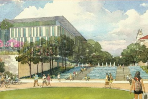 Composite of Liberal Arts Building.