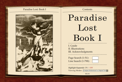Screenshot from Paradise Lost online