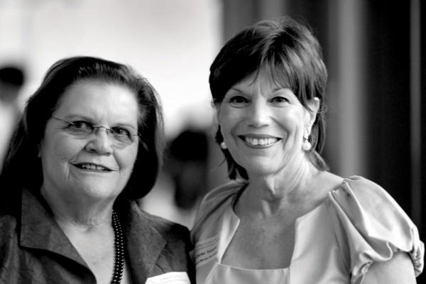 Frances Vick and Ellen Temple
