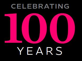 """""""celebrating 100 years"""""""