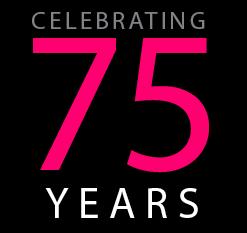 """""""celebrating 75 years"""""""