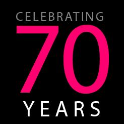 """""""Celebrating 70 years"""""""