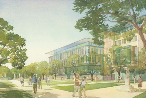 digital drawing of COLA building