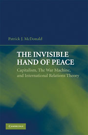 cover of The Invisible Hand of Peace