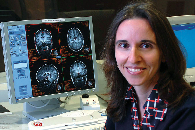 Andreana Haley, assistant professor of psychology, examines the link between insulin impairment and midlife cognitive decline.