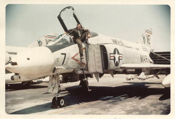 Capt. John Hurst in Chu Lai, South Vietnam. Photos courtesy of Kay Goodwin.