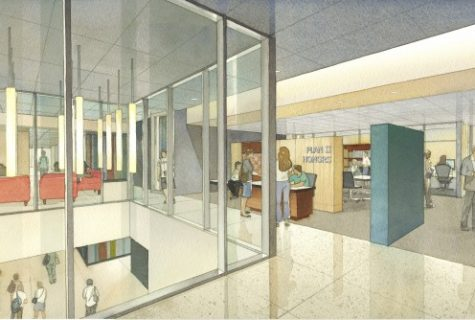 UT Plan II hall