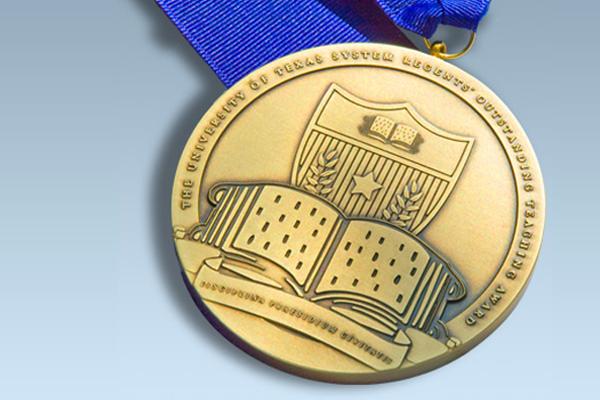 Regents' Outstanding Teaching Award Medal