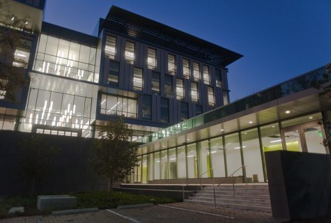 Exterior view of the new Liberal Arts Building