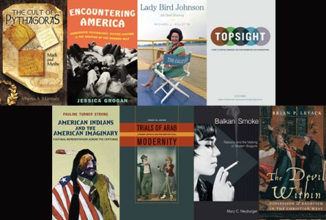 Image of book covers for spring 2013