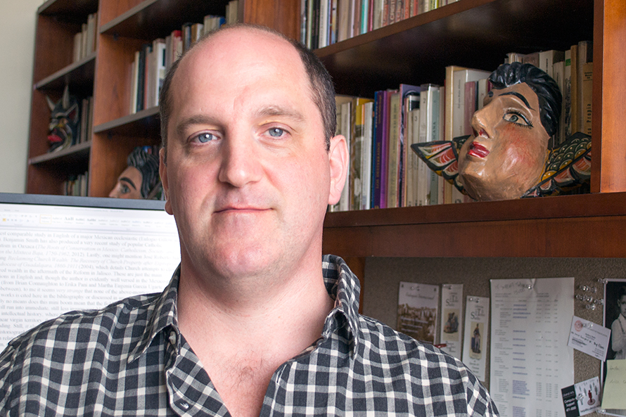 Matthew Butler, associate professor of modern Mexican history