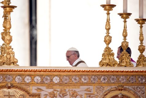 pope in pulpit