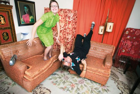 Trouble in Paradise or Domestic Bliss, what shared spaces reveal about couple's relationship.