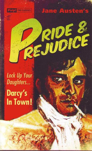 "Image of Jane Austen's ""Pride and Prejudice"" redux."