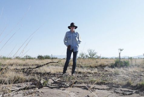 Kathleen Shafer, a Geography and the Environment graudate student and boot camp participant, discovered her dissertation topic in Marfa, Texas while photographing abandoned airfields. Photo courtsey of Kathleen Shafer.