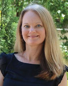 Image of Jennifer Ebbeler, associate professor of classics. Photo: Ann Morgan