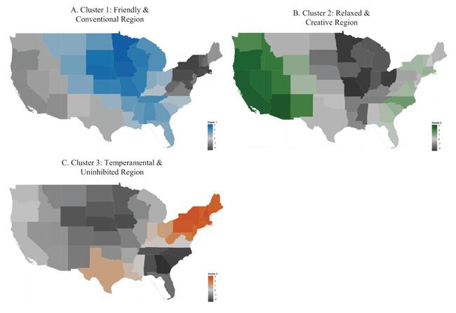 U.S. Regions Exhibit Distinct Personalities, Study Shows
