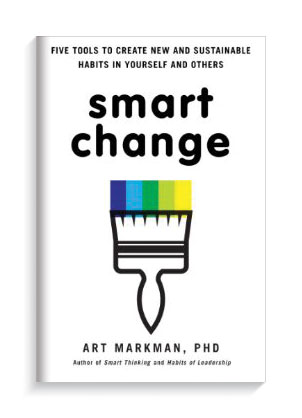 Book cover Smart Change by Professor Art Markman.
