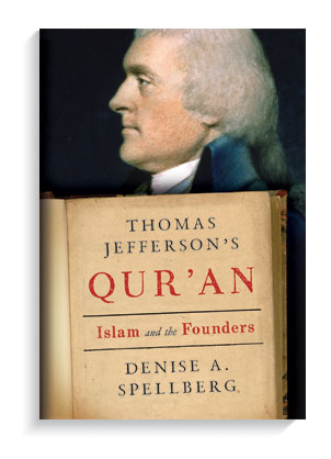 Thomas Jefferson's Qu'ran book cover.