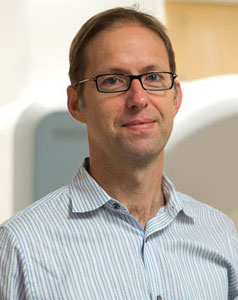 Russell Poldrack, professor of neuroscience, psychology and the director of the Imaging Research Center. Photo by Alexander Wang