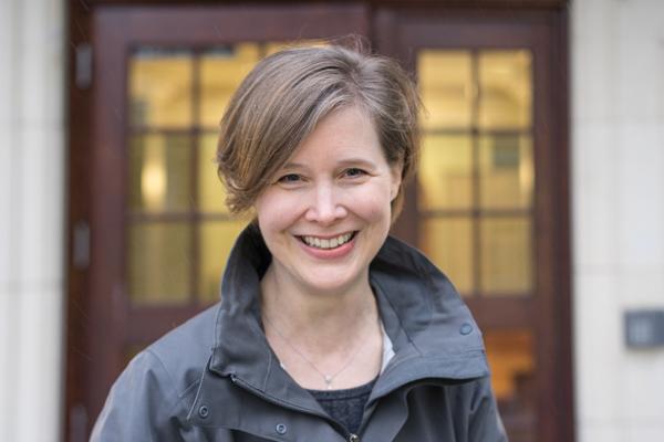 On Jan. 23, bestselling novelist Ann Patchett spoke in the Joynes Reading Room for a Plan II Honors event. Photo: Matt Valentine ©