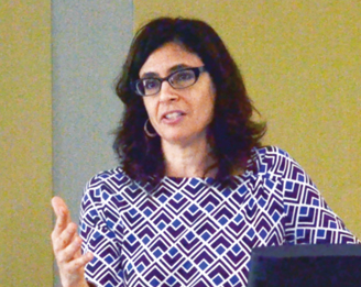 Julia Mickenberg, associate professor of American studies. Photo: Emily Nielsen