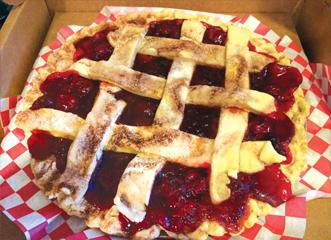 Royers Café Bob Pastorio's cherry pie. Photo: Michelle Bryant