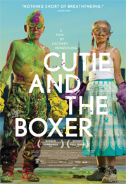 Cutie and the Boxer poster.