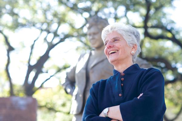 Professor Paula Newberg. Photo: Sasha Haagensen.