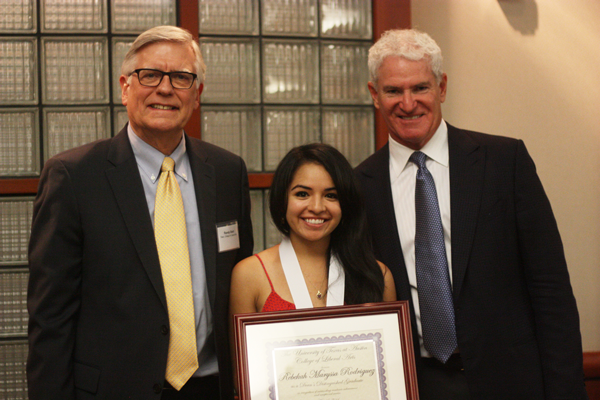 Inspired by her father, a Mexican native who immigrated to the U.S. and became a doctor, Rebekah has realized the importance of education, determination and giving back to the community. Rebekah has participated in the Normandy Scholar Program and Archer Fellowship as a Supreme Court intern. After graduation, she will pursue international and appellate law at Columbia Law School this fall in the hopes of becoming a federal judge.