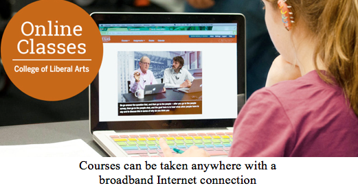 courses that can be taken with internet screenshot