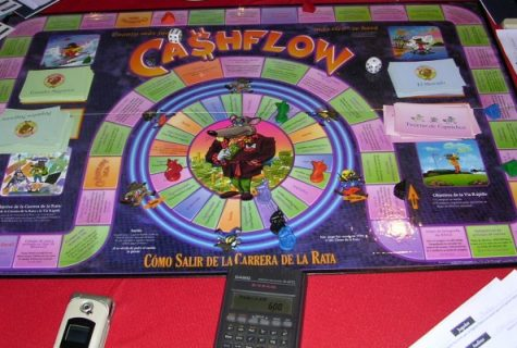 gameboard of Cashflow game