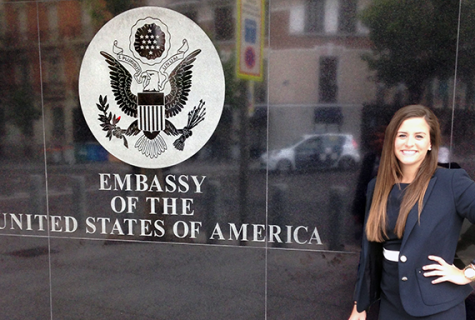 Megan Palombo in from the the US Embassy