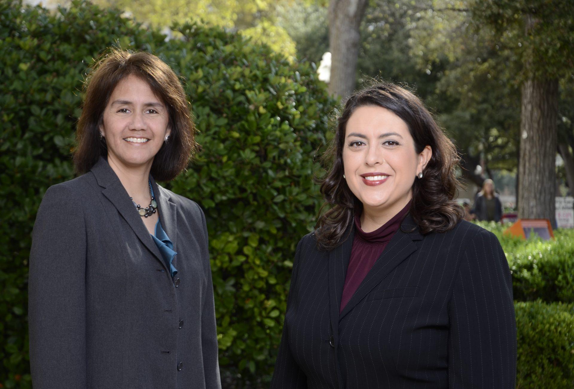 Dr. Domino Perez and Dr. Nicole Guidotti-Hernandez