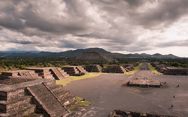 The Pyramid of the Sun in Teotihuacan, Mexico. Photo credit: Joseph Martinez / Flickr