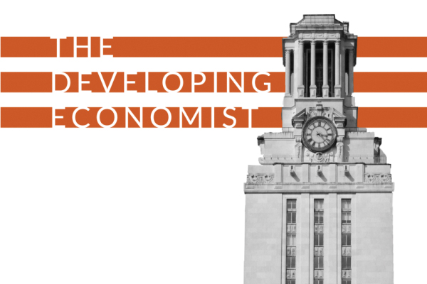 The Developing Economist graphic with Tower