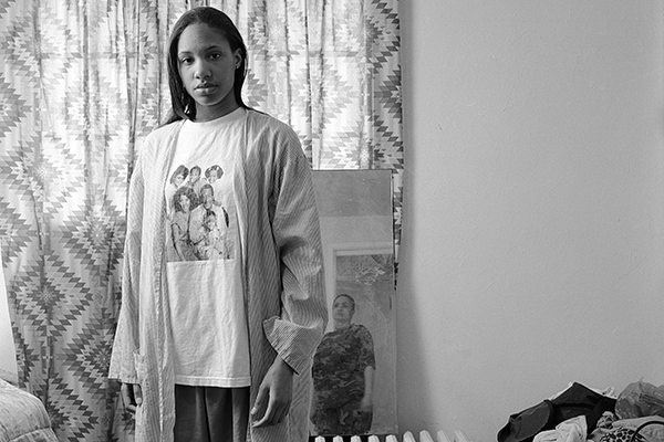 LaToya Ruby Frazier, Huxtables, Mom and Me, 2009, from The Notion of Family Courtesy of the artist and Michel Rein, Paris/Brussels