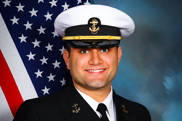 Marshall Navy portrait